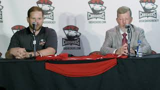 [CHA] Ryan Warsofsky introductory press conference