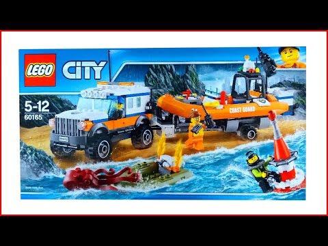 UNBOXING LEGO 60165 City 4 x 4 Response Unit Construction Toy