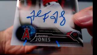 2016 Bowman Chrome Baseball 12 Box Vending Case Break #1 ~9/6/16
