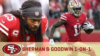 Marquise Goodwin & Richard Sherman Break Down Training Camp Battles   San Francisco 49ers