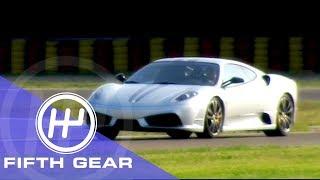 Fifth Gear: Ferrari 430 Scuderia Faster Than An Enzo