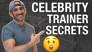 CELEBRITY TRAINER ANSWERS TOP 50 QUESTIONS ABOUT PERSONAL TRAINING
