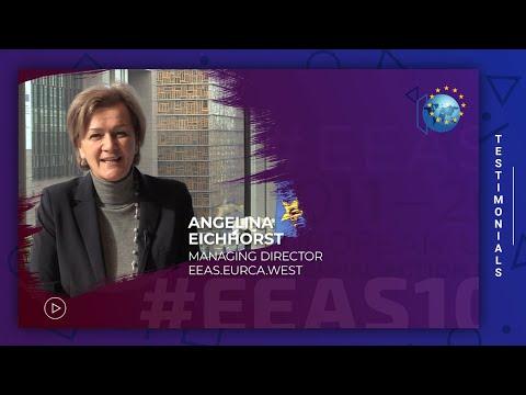 EEAS10 Staff testimonial - Angelina Eichhorst