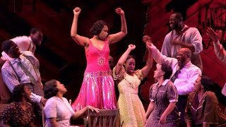 Jennifer Hudson takes the stage on Broadway