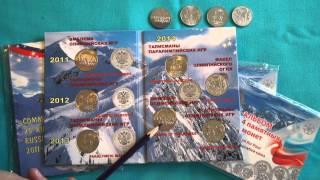 Олимпийские монеты Сочи 2014