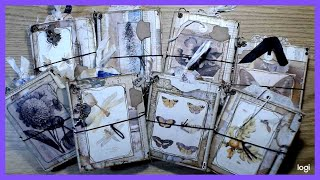 Wendy Inspired Abbreviated Lapbooks/ Mini Junk Planners ** AL SOLD** Thank You!