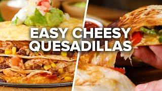7 Loaded Cheesy Quesadillas