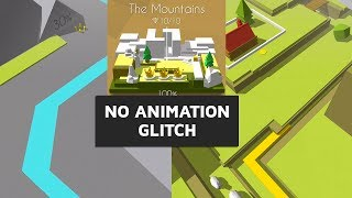 Dancing Line - Crazy Mountains (No Animation Glitch) | SHAvibe