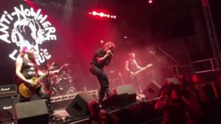 Anti-nowhere league - snowman -live from rebellion festival Blackpool 5th August 2016