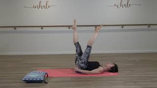 Pilates Mat Intermediate With Imelda Turner With Ball or Cushion