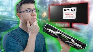Using Nvidia G-SYNC on AMD Freesync Monitors - Tutorial
