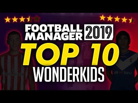 Football Manager 2019 - Top 10 Wonderkids