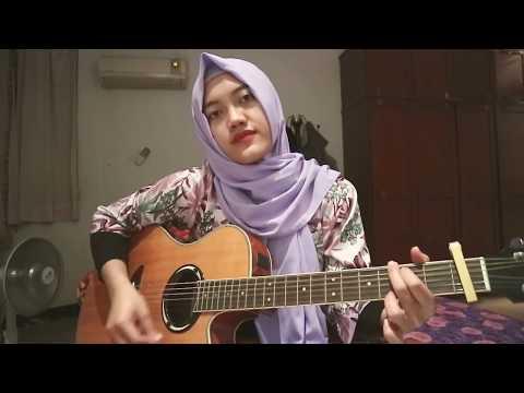 Lagu paling menyentuh hati dr ungu  laguku cover gitar by giyanti
