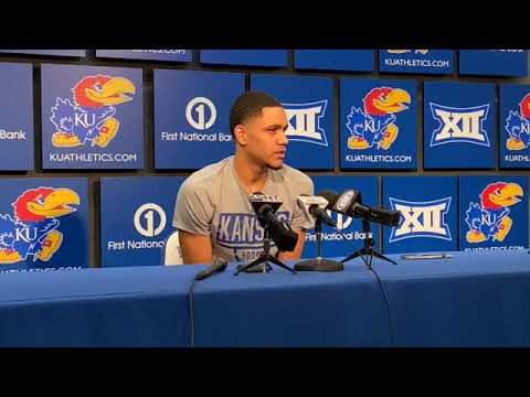 KU freshman Tristan Enaruna on first collegiate game