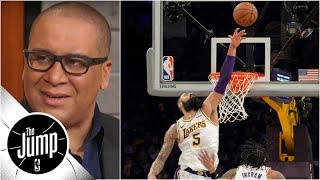 Does Tyson Chandler's hero block prove he's everything Lakers needed?   The Jump