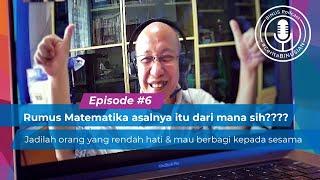 #BINUSPodcast Episode 6 -Wikaria Gazali, S.Si., MT: Rumus Matematika asalnya itu dari mana sih?