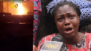Tears, Six die, 39 vehicles burnt Over 200 houses razed in Abule Egba pipeline explosion