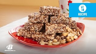 Jamie Eason's LiveFit Recipes: Chocolate Peanut Butter Protein Crisp