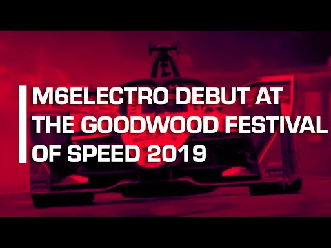 Nick Heidfeld Debuts M6Electro At The Goodwood Festival of Speed 2019 | Mahindra Racing