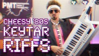 Classic/Cheesy '80s Keytar Riffs (Played on the Roland AX-Edge)