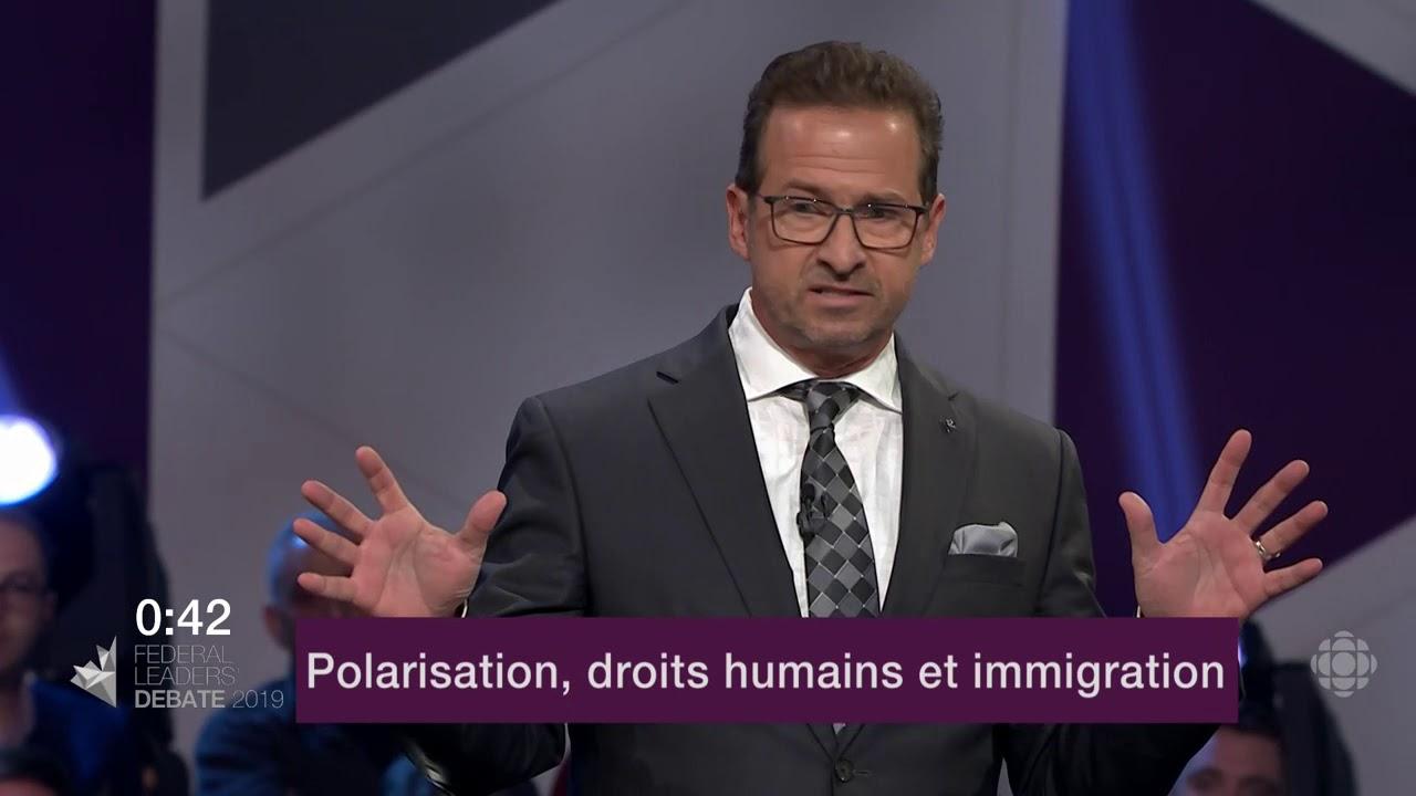 Jagmeet Singh et Yves-François Blanchet débattent de la Loi sur la laïcité du Québec