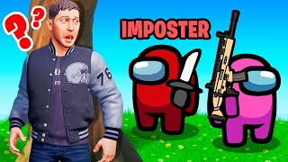 AMONG US *HIDE or SNITCH* Game Mode in Fortnite