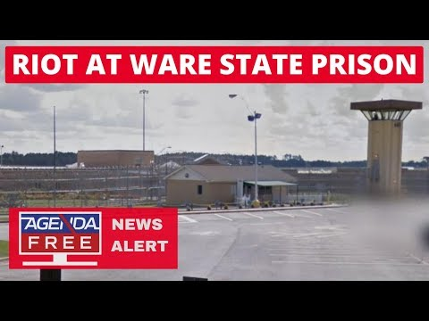 Riot at Ware State Prison – LIVE BREAKING NEWS COVERAGE