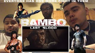 Rambo: Last Blood Official Trailer Reaction