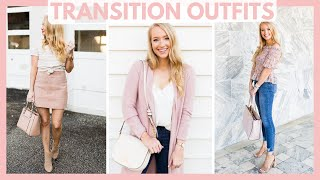 HOW TO TRANSITION YOUR SUMMER WARDROBE INTO FALL OUTFITS 2019 | SUMMER TO FALL STYLE | Amanda John
