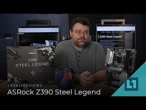 ASRock Z390 Steel Legend Motherboard Review + Linux Test