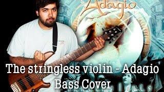 The stringless violin - Adagio / Bass Cover