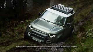 YouTube Video rFjCTMUvZ9M for Product Land Rover Defender (L663) by Company Land Rover in Industry Cars