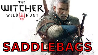 The Witcher 3 - where to find saddlebags- carry more weight