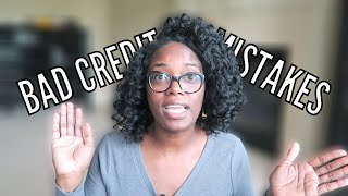 5 ways you're hurting your CREDIT and not even know it!