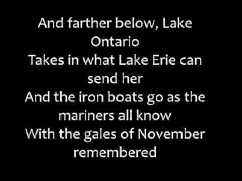 Download Gordon Lightfoot - The Wreck of the Edmund Fitzgerald (Lyrics) Mp4 HD Video and MP3