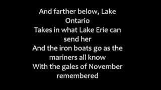 The wreck of the Edmund Fitzgerald -Gordon Lightfoot