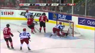 Канада-Россия 5-6 Полуфинал МолЧемпМира 2012