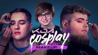 Cloud 9 Does K/DA Cosplay Makeup - HyperX Moments
