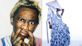 Young Thug Wears a Dress on the Cover of 'Jeffery'. He Explains Why The Dress and Name Change.
