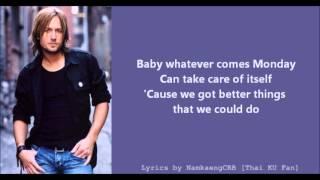[Lyrics] Raining On Sunday - Keith Urban - YouTube