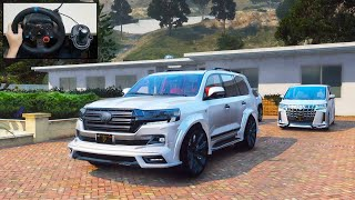 WALD Toyota Land Cruiser - Grand Theft Auto V - Logitech G29 Gameplay