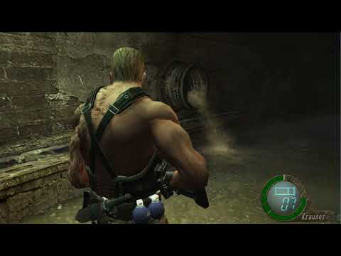 Resident Evil 4 UHD Trainer - Swapping r100 Files to r400