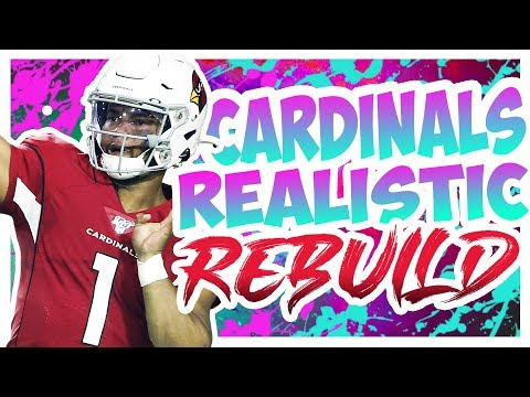Rebuilding The Arizona Cardinals - Madden 20 Connected Franchise Realistic Rebuild