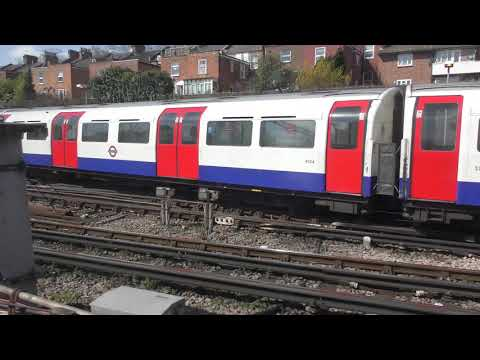 Full Journey On The London Overground From London Euston to Watford Junction