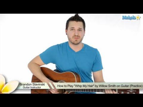 How to Play an F Sharp Minor  (F#m) Bar Chord on Guitar (9th Fret)