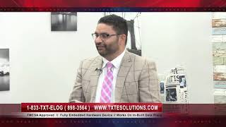 Interview with TXT E Solutions CEO Prince Saini on ELDs on 5AAB Canadian News Channel