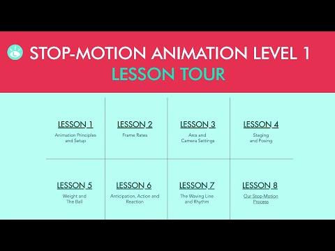 Stop-motion Animation Level 1 Lesson Tour - YouTube