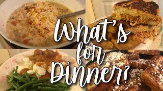 EASY FAMILY DINNER IDEAS // WHAT'S FOR DINNER WEDNESDAY 2018