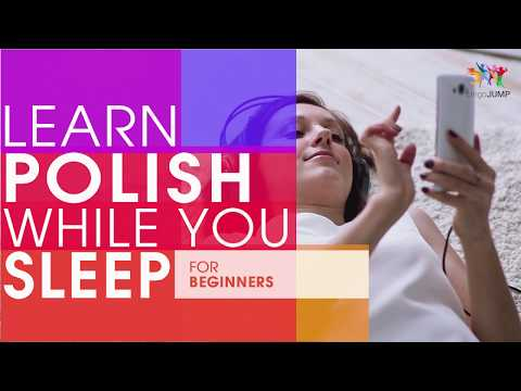Learn Polish while you Sleep! For Beginners! Learn Polish words & phrases while sleeping!