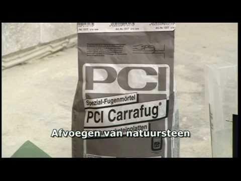 PCI - Verlijmen van Natuursteen